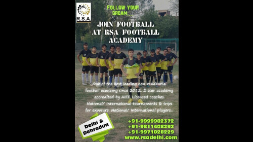 REAL SPORTS ACADEMY (RSA)