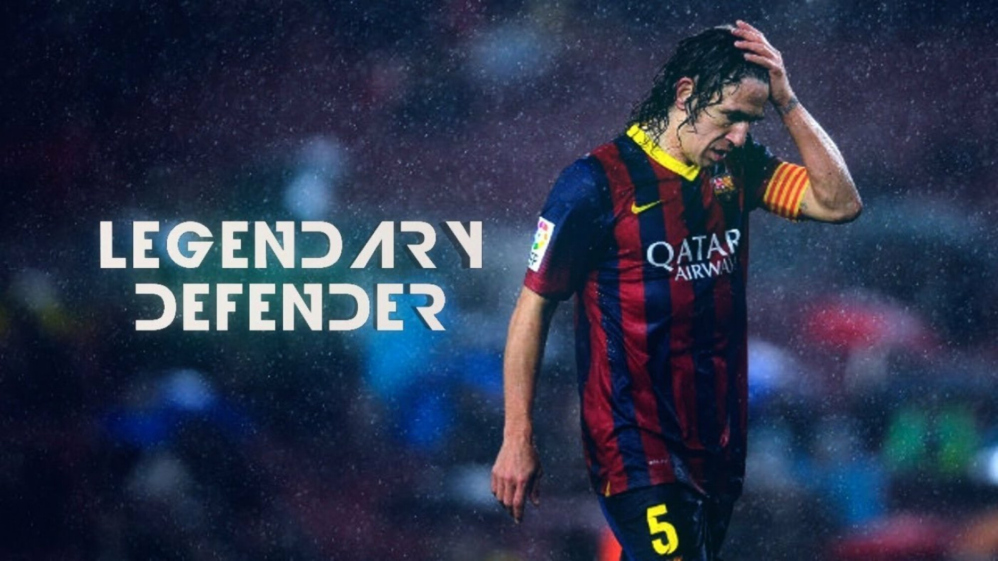 The last proper defender at Barcelona - Carles Puyol