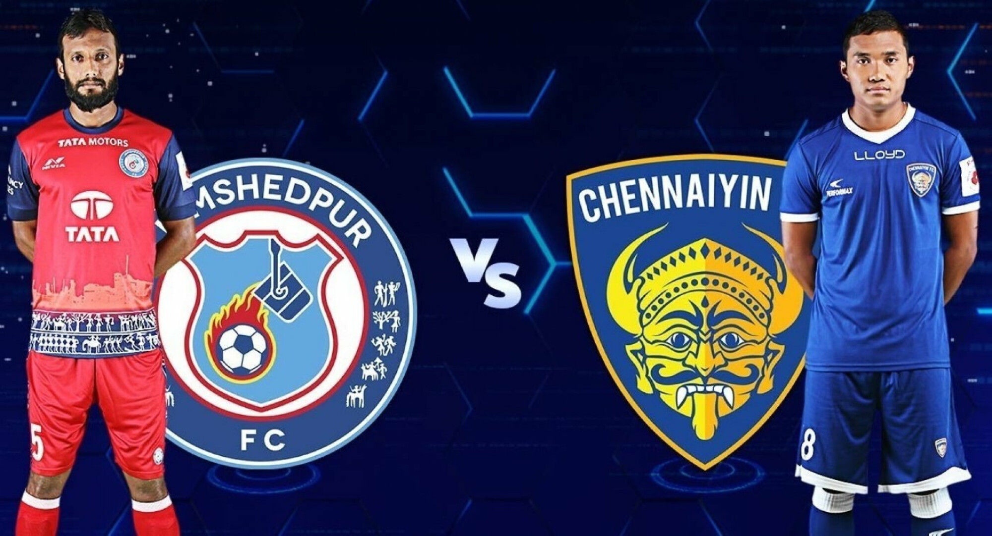 Jamshedpur FC vs Chennaiyin FC, the build-up.