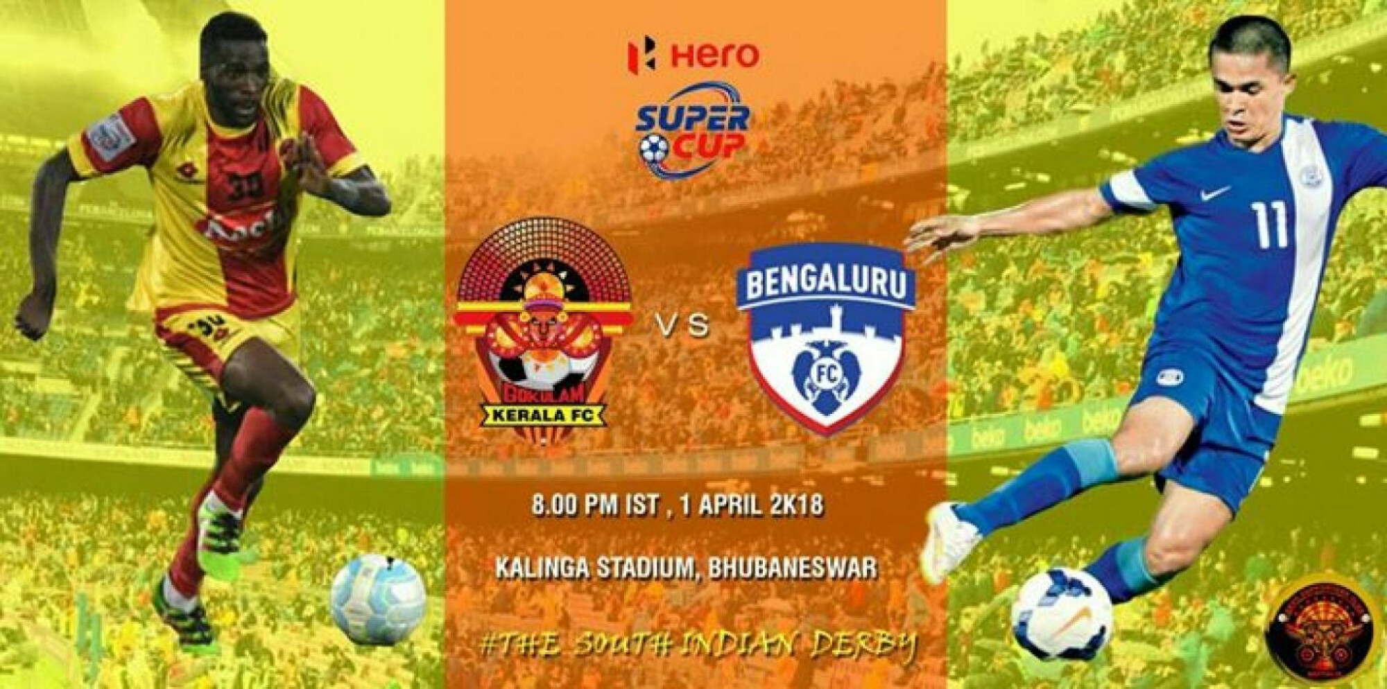 Bengaluru FC vs Gokulam Kerala FC - A match made in South India