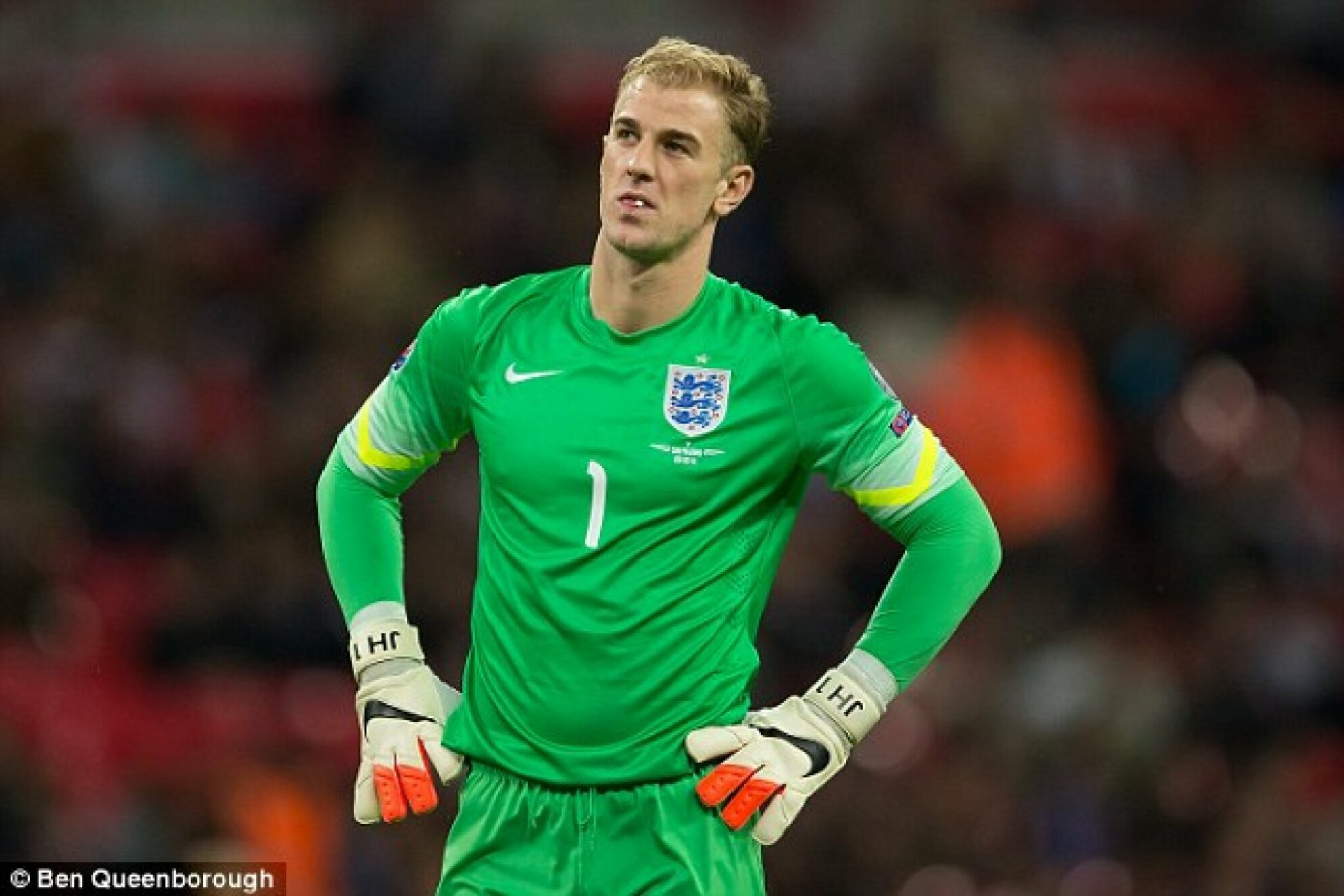 """No fear, go and smash it"" - Hart finally breaks his silence on World Cup snub"