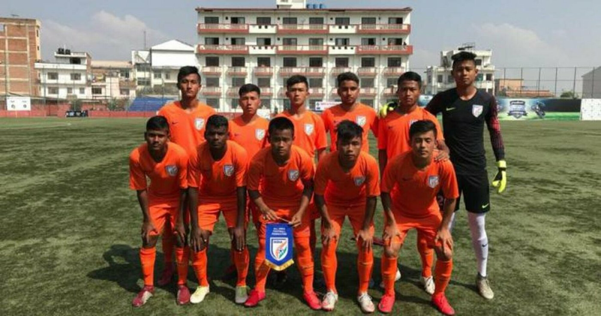 India under 16 football team set to participate in three-nation tournament.
