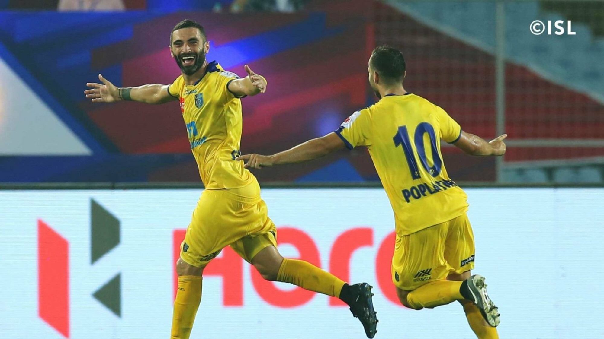 Kerala Blasters impress as they oust ATK at the Salt Lake Stadium