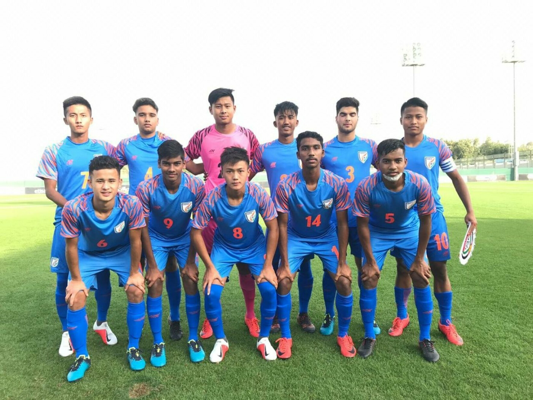 U-16 Tri-nation Series: India U-16 hold hosts UAE for a draw