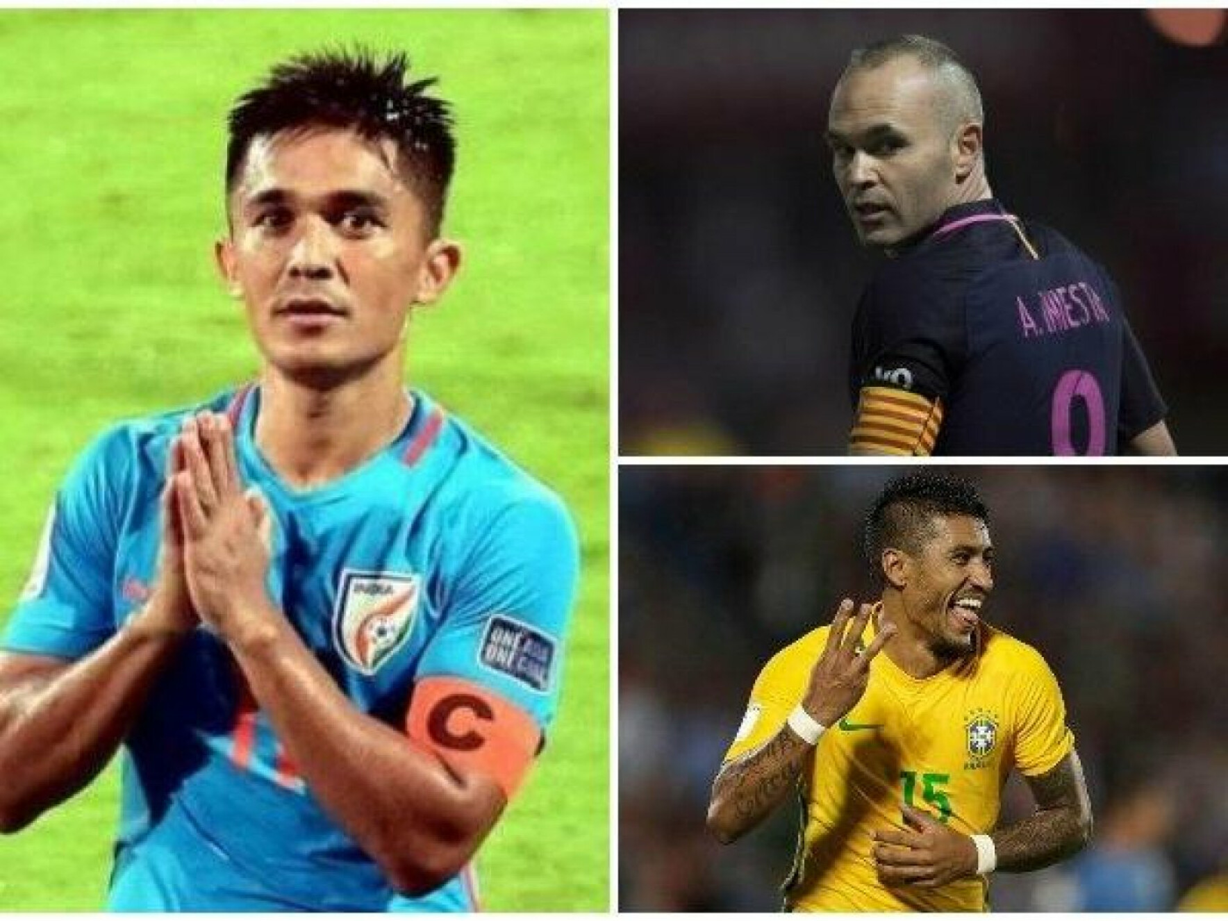 Best Footballer in Asia 2018: Sunil Chhetri finishes above Andres Iniesta, Paulinho