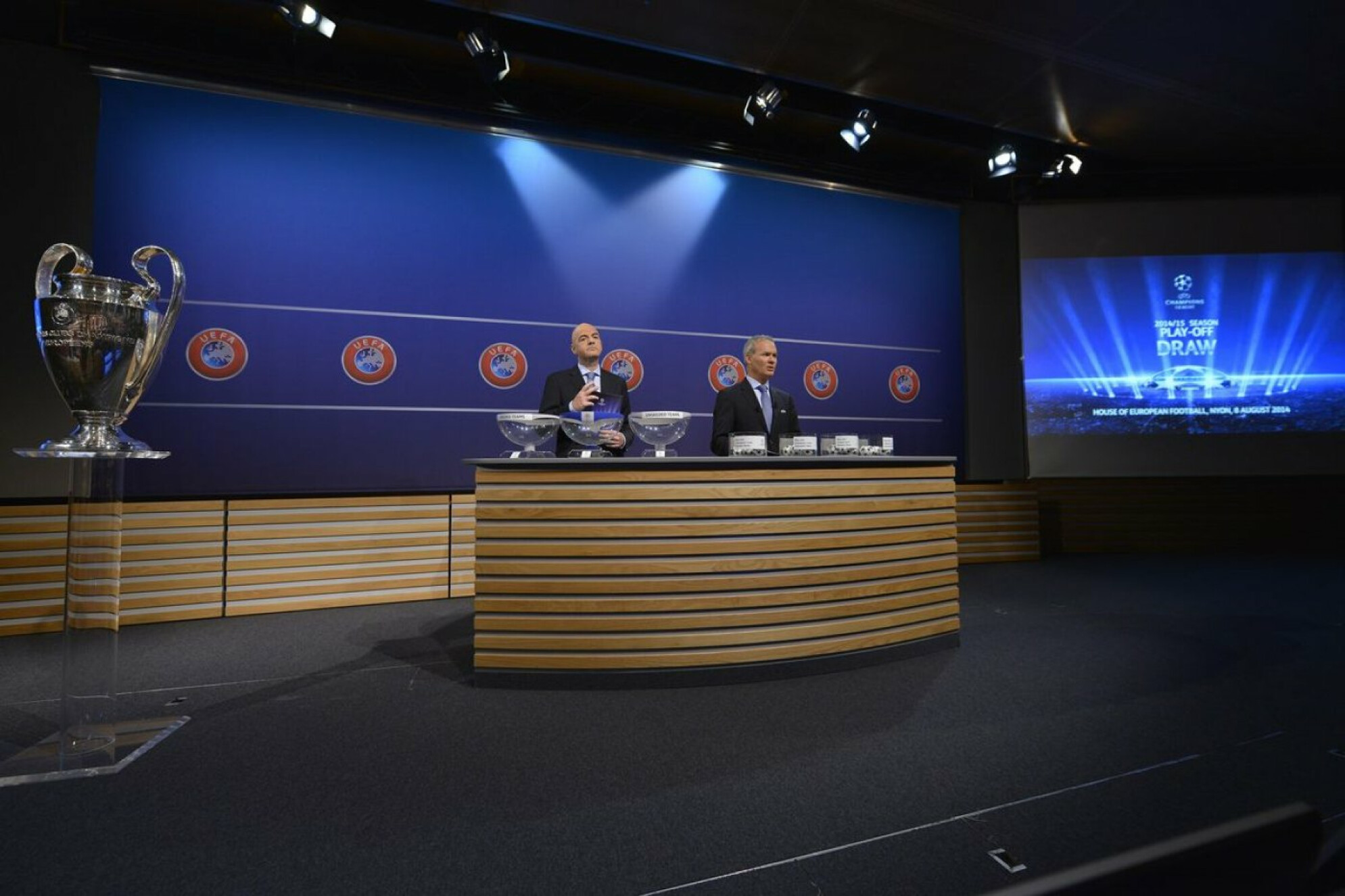 When and where is the UEFA Champions League Round of 16 draw?