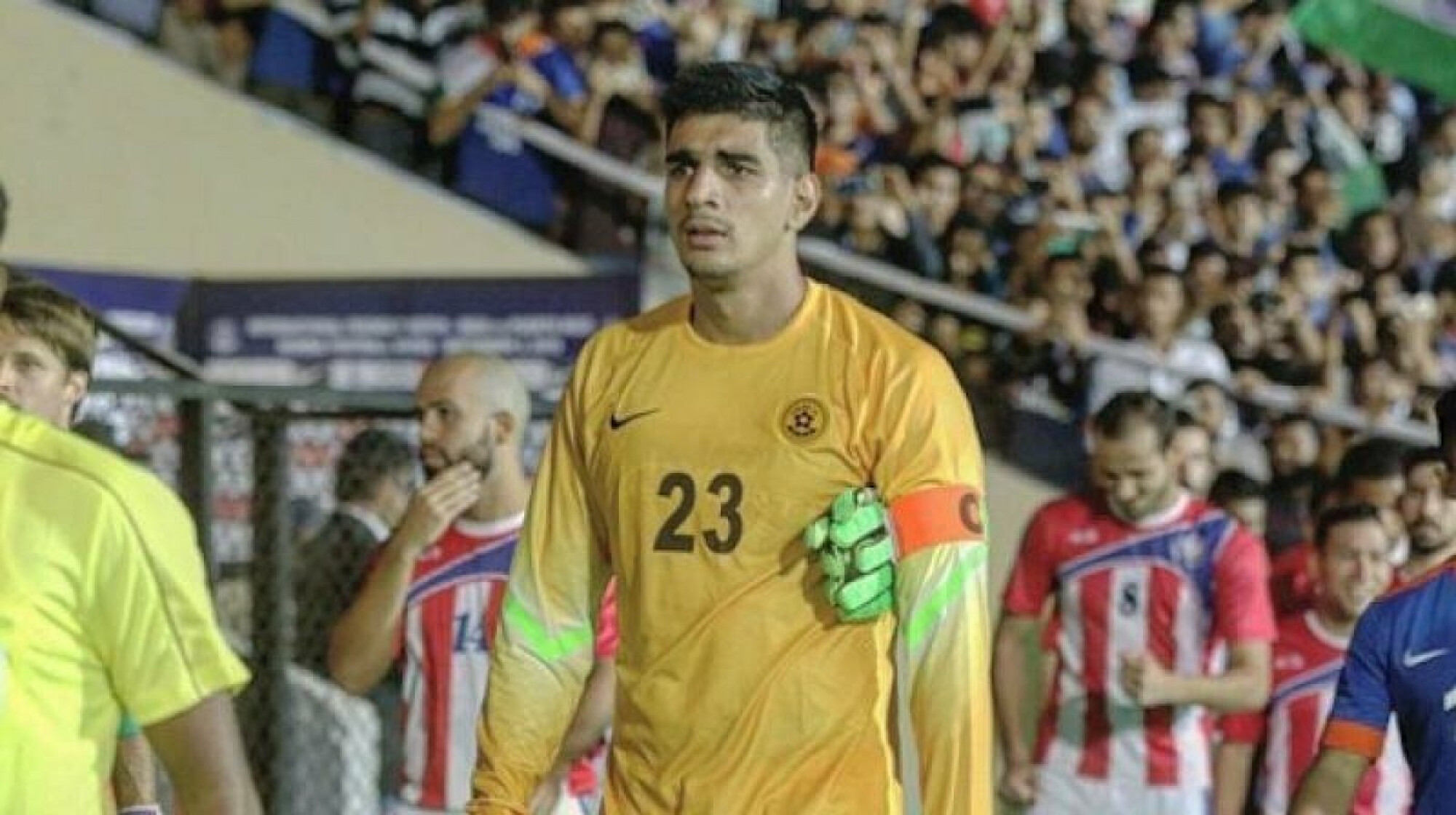 Gurpreet Singh Sandhu to captain India in the AFC Asian Cup opener