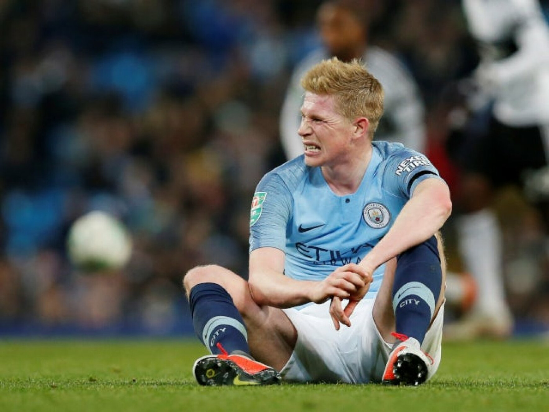 Pep Guardiola gave the latest on Kevin de Bruyne ahead of Liverpool clash