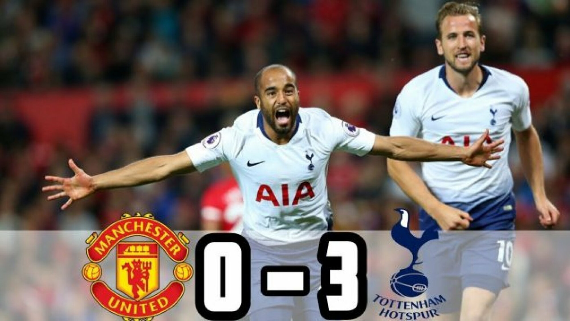 Spurs dismantle Manchester United to announce their title credentials