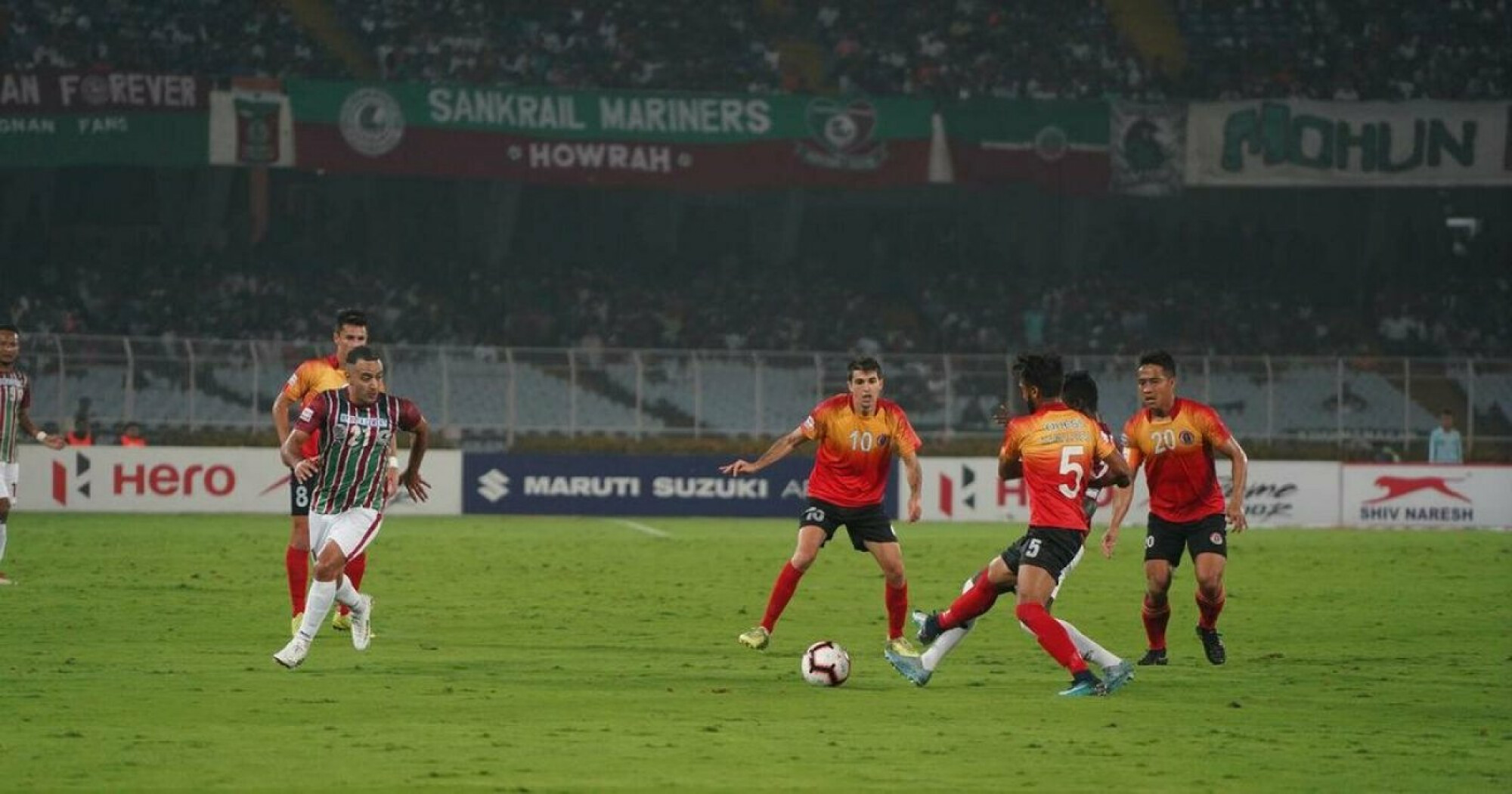 East Bengal create history in the derby victory
