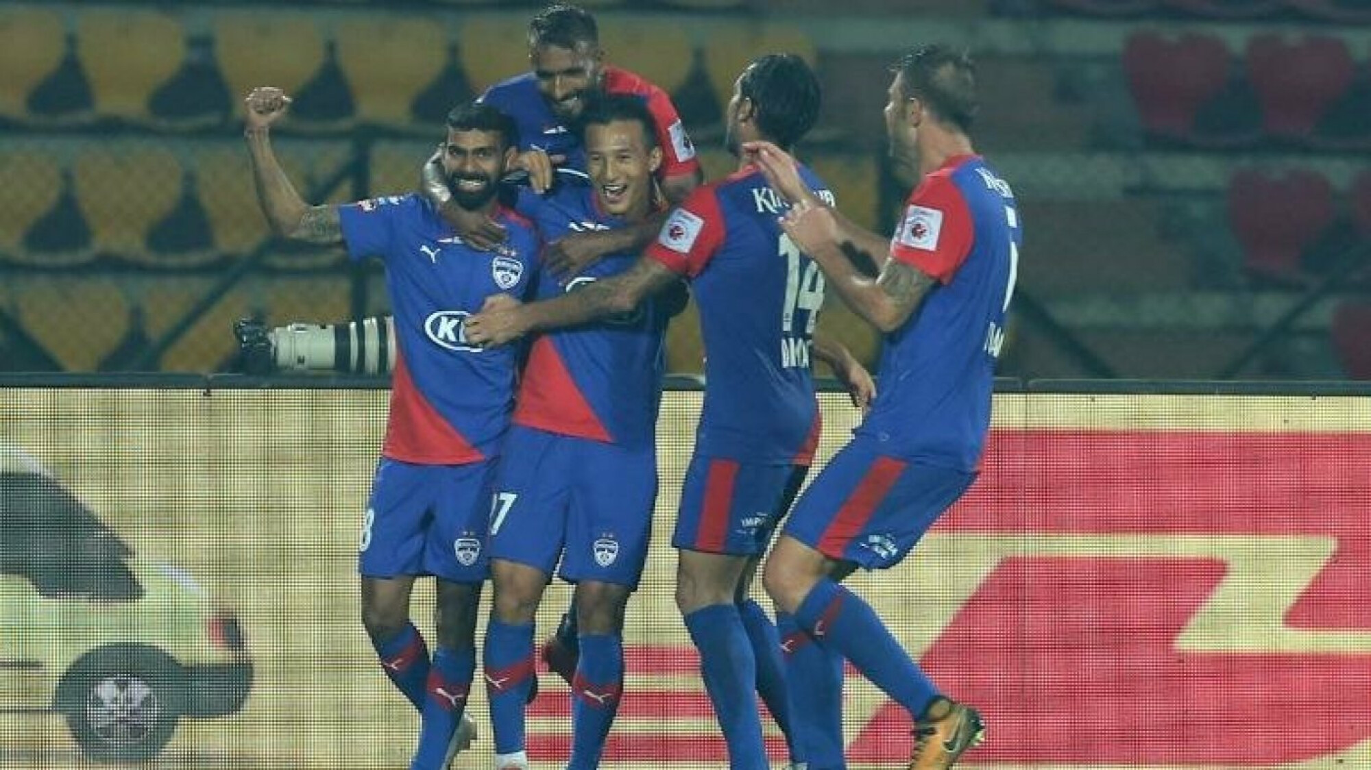 ISL 2018-19: Wasteful NorthEast United handed defeat by Bengaluru FC