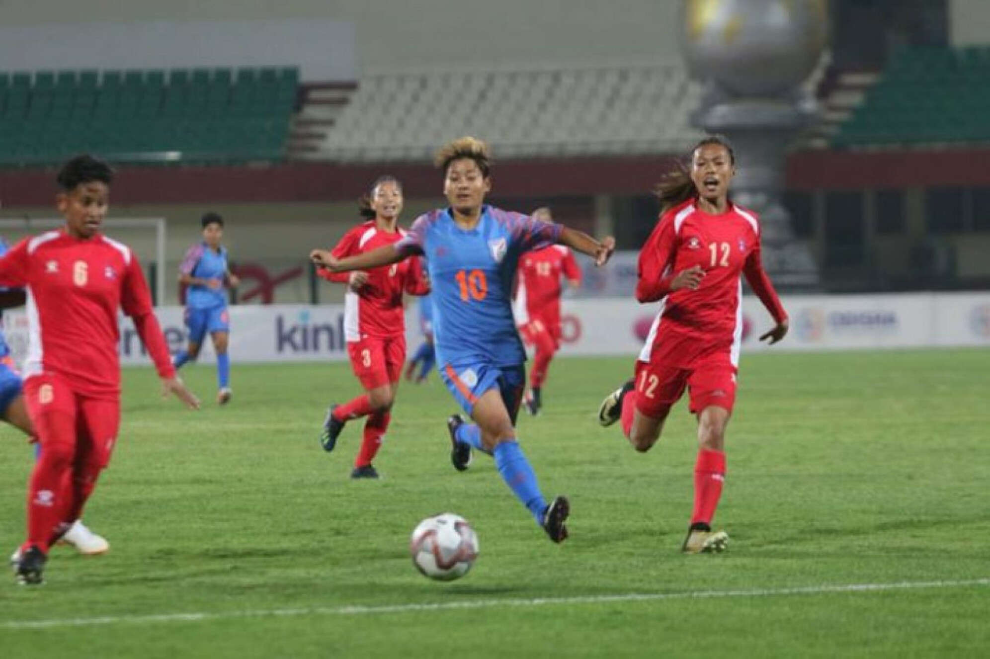 Hero Gold Cup 2019: Nepal women's football team defeat India 2-1
