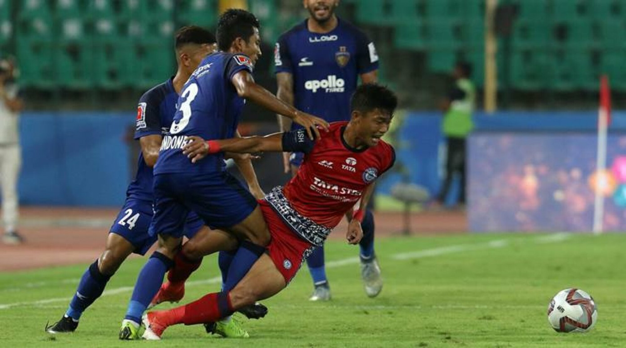 ISL 2018-19: Jamshedpur-Chennaiyin ends encounter stalemate, NorthEast qualify to the playoffs.