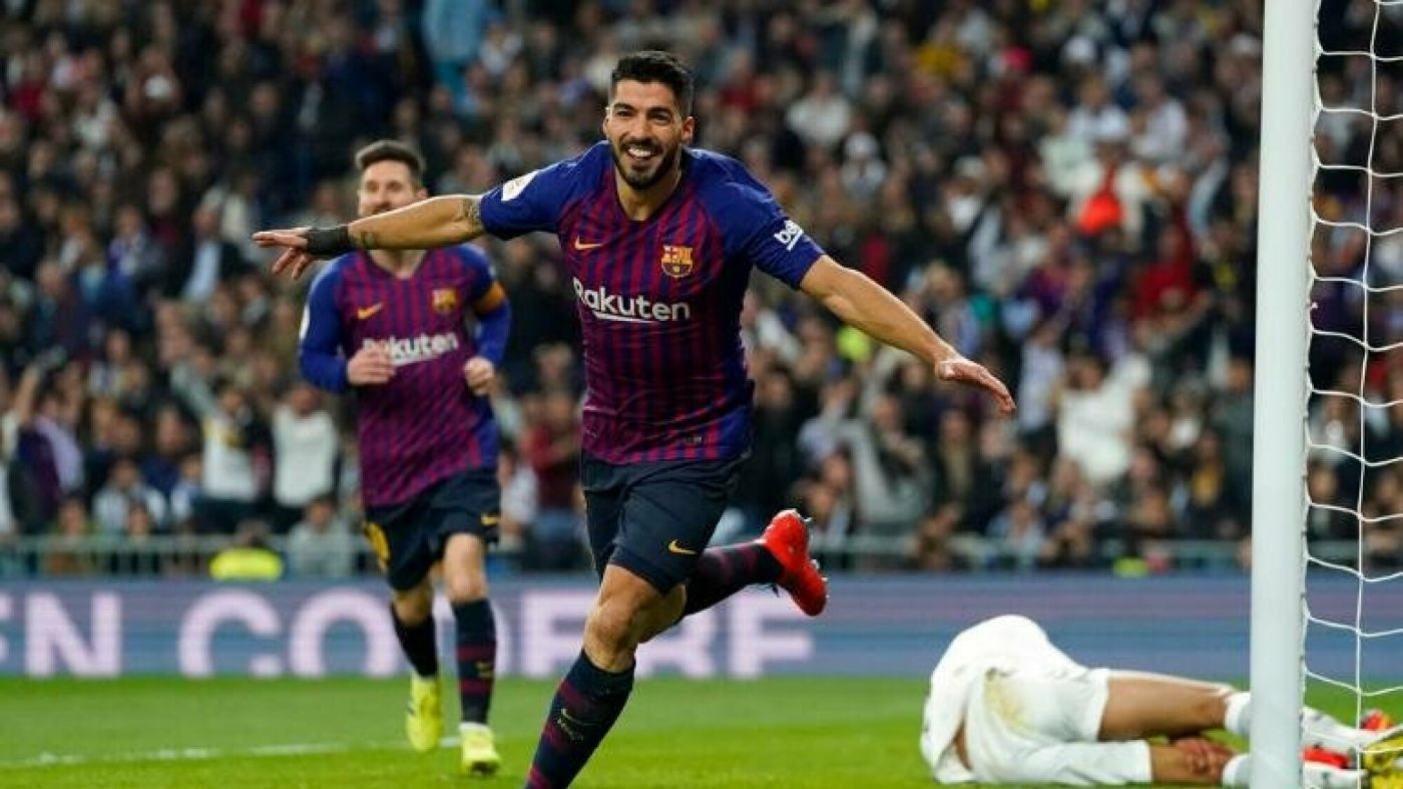 Luis Suarez, the king of El Clasico, dismantles Real Madrid at the Bernabeu