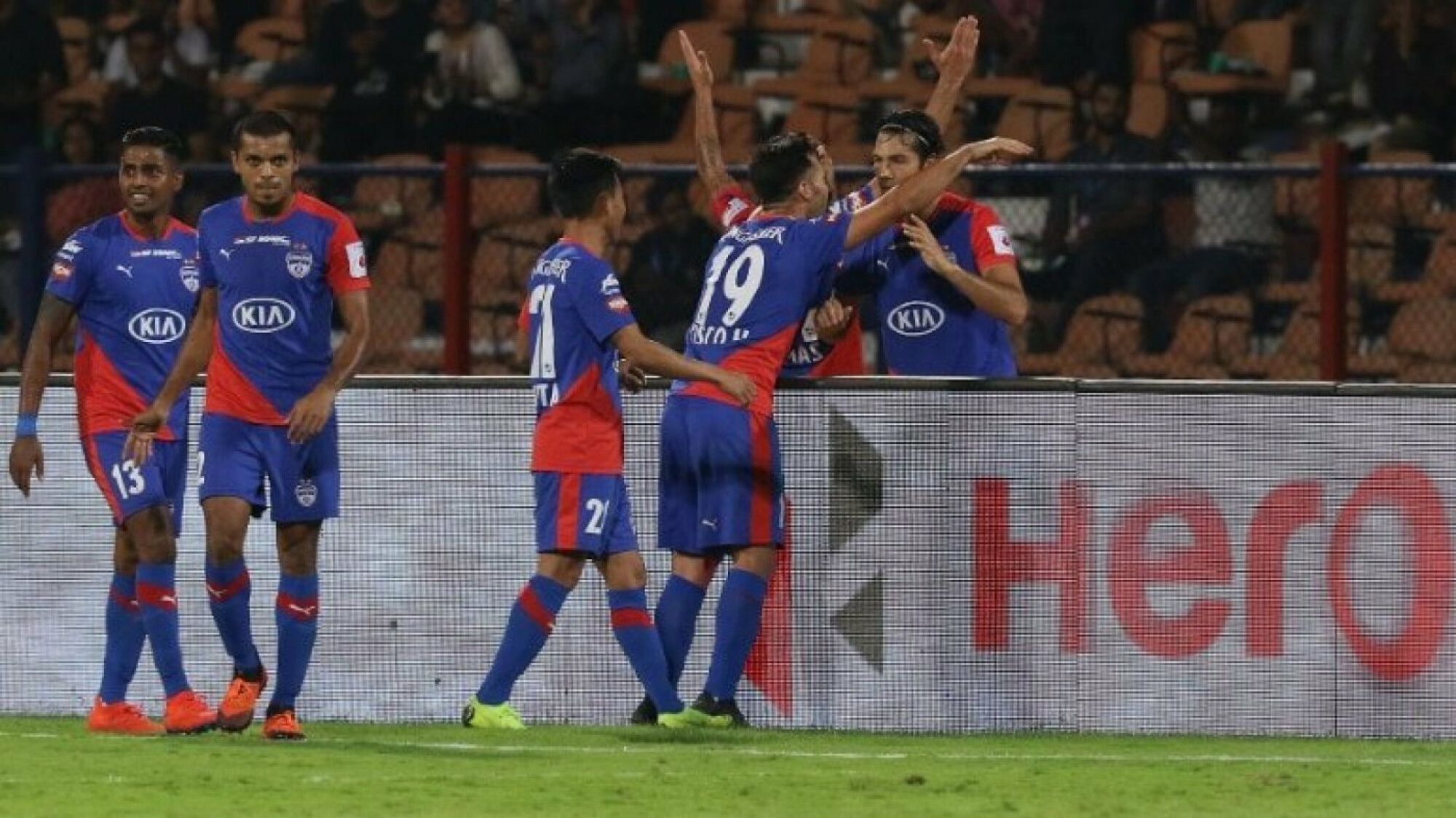ISL 2018-19: Bengaluru defeat Goa to seal top spot.