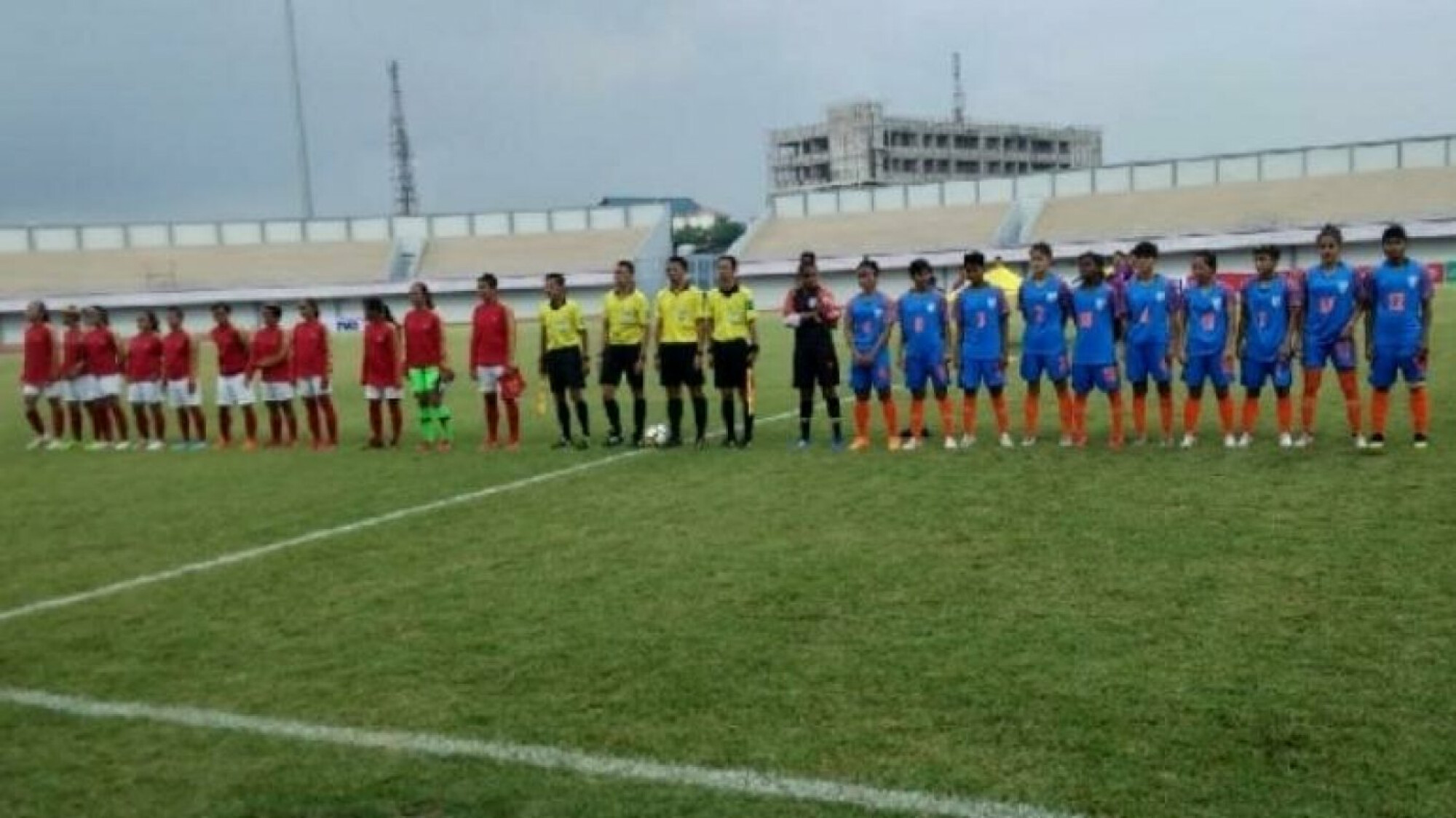 Indian women's team end East Asia tour winning all games.
