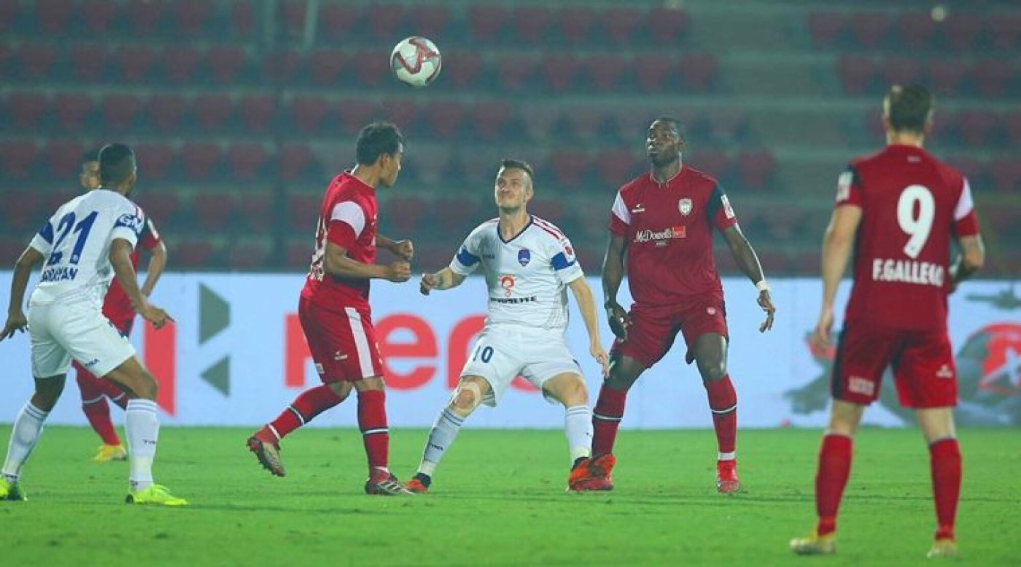 ISL 2018-19: Wasteful NorthEast United share spoils with Dynamos
