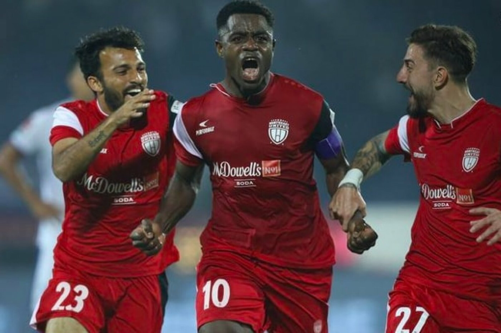 ISL 2018-19: Ogbeche's late stunner ensures full points for hosts Northeast United