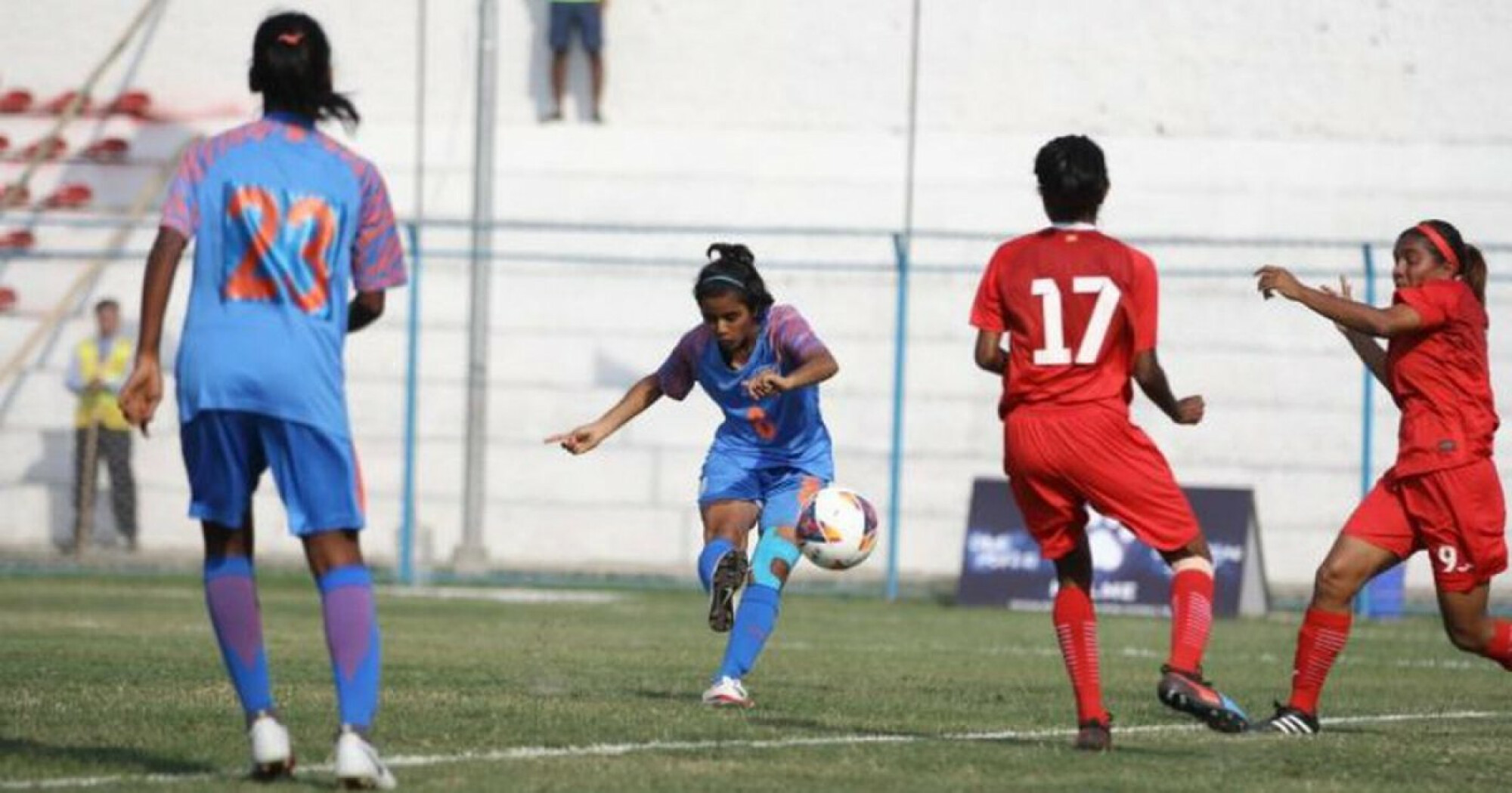 SAFF Women's Cup: India begin campaign with Maldives thrashing.