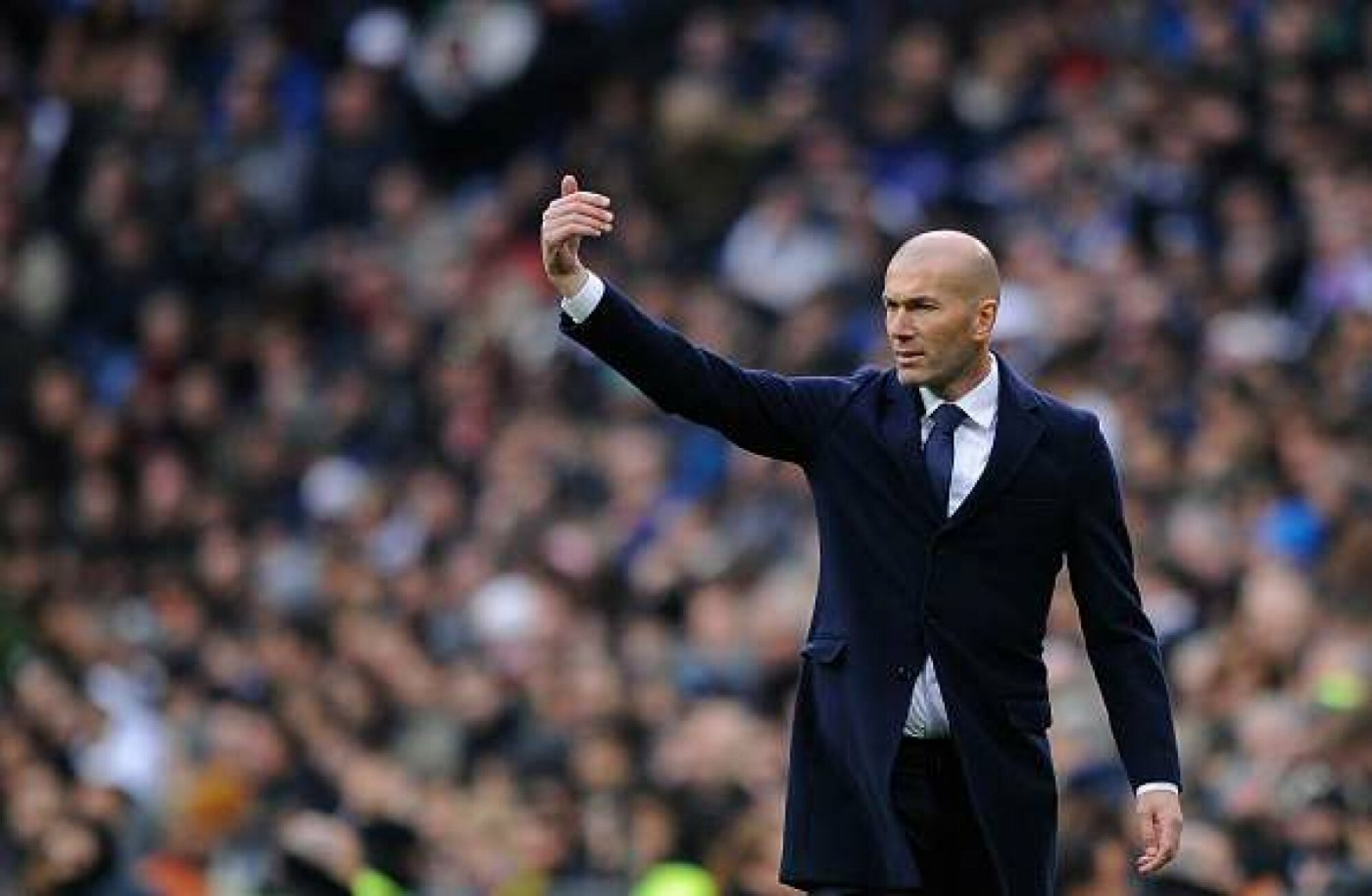 BREAKING NEWS: Zinedine Zidane returns at the helm of Real Madrid