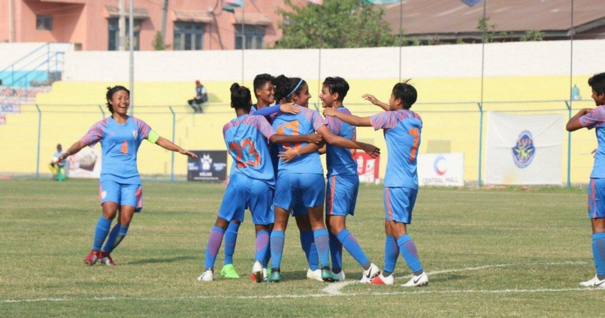 SAFF Women's Cup 2019: India ease past Bangladesh into the finals.