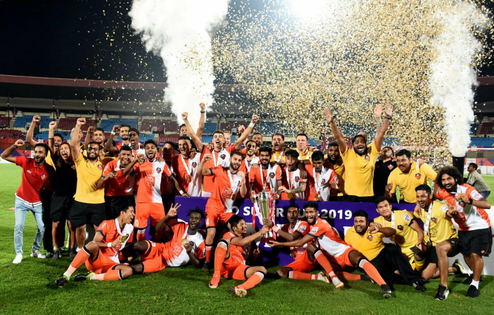 Super Cup 2019: FC Goa defeat Chennaiyin to lift the trophy.