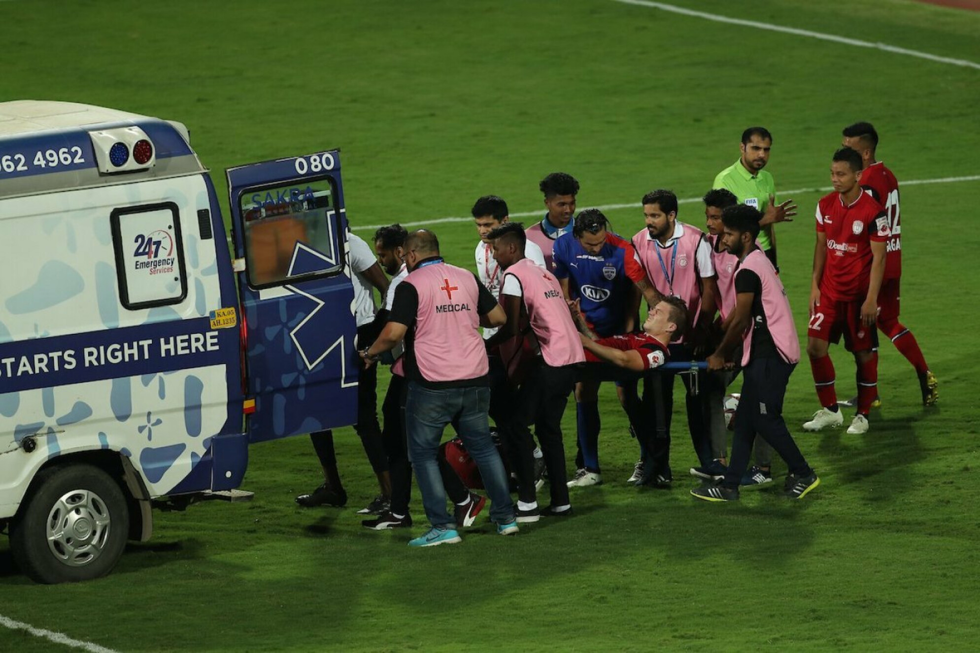 Federico Gallego sustains multiple fractures, wishes pour in for the Uruguayan midfielder.