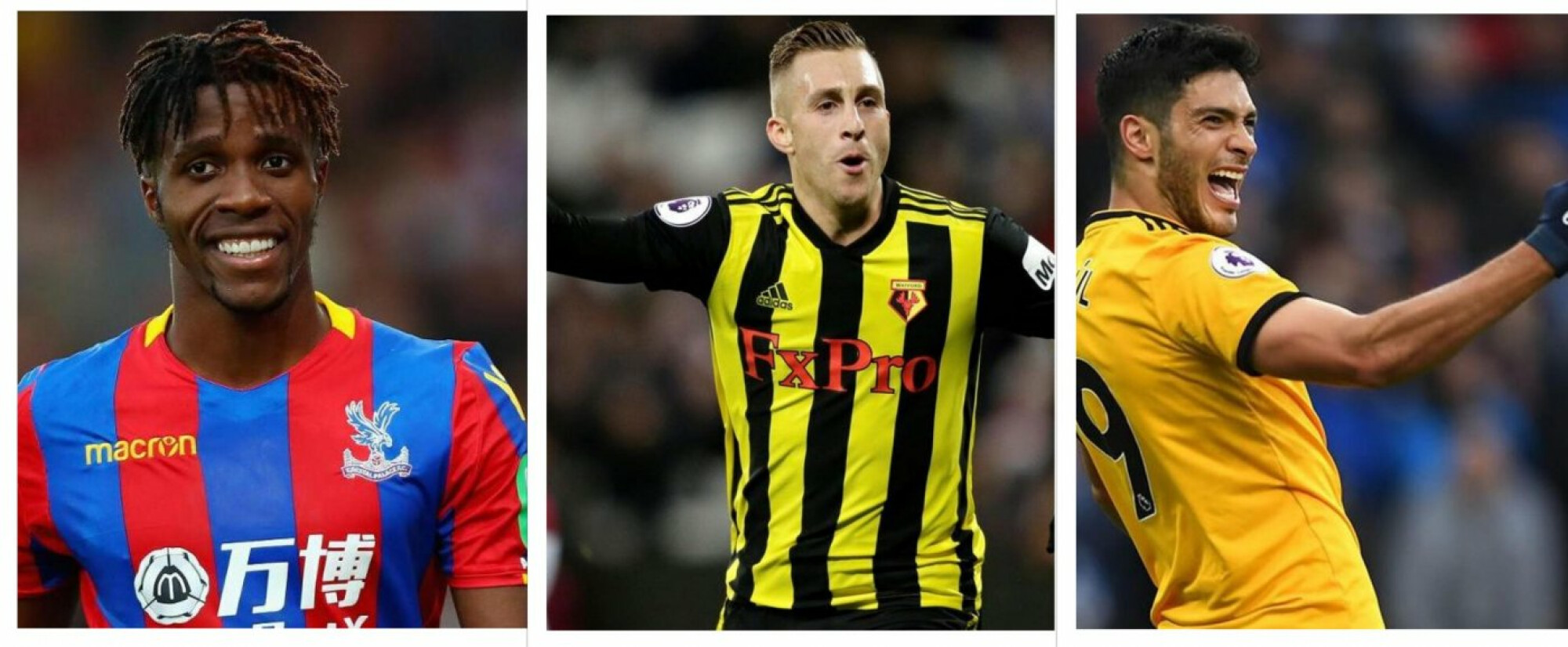 Top five players outside the top 6 in the Premier League.