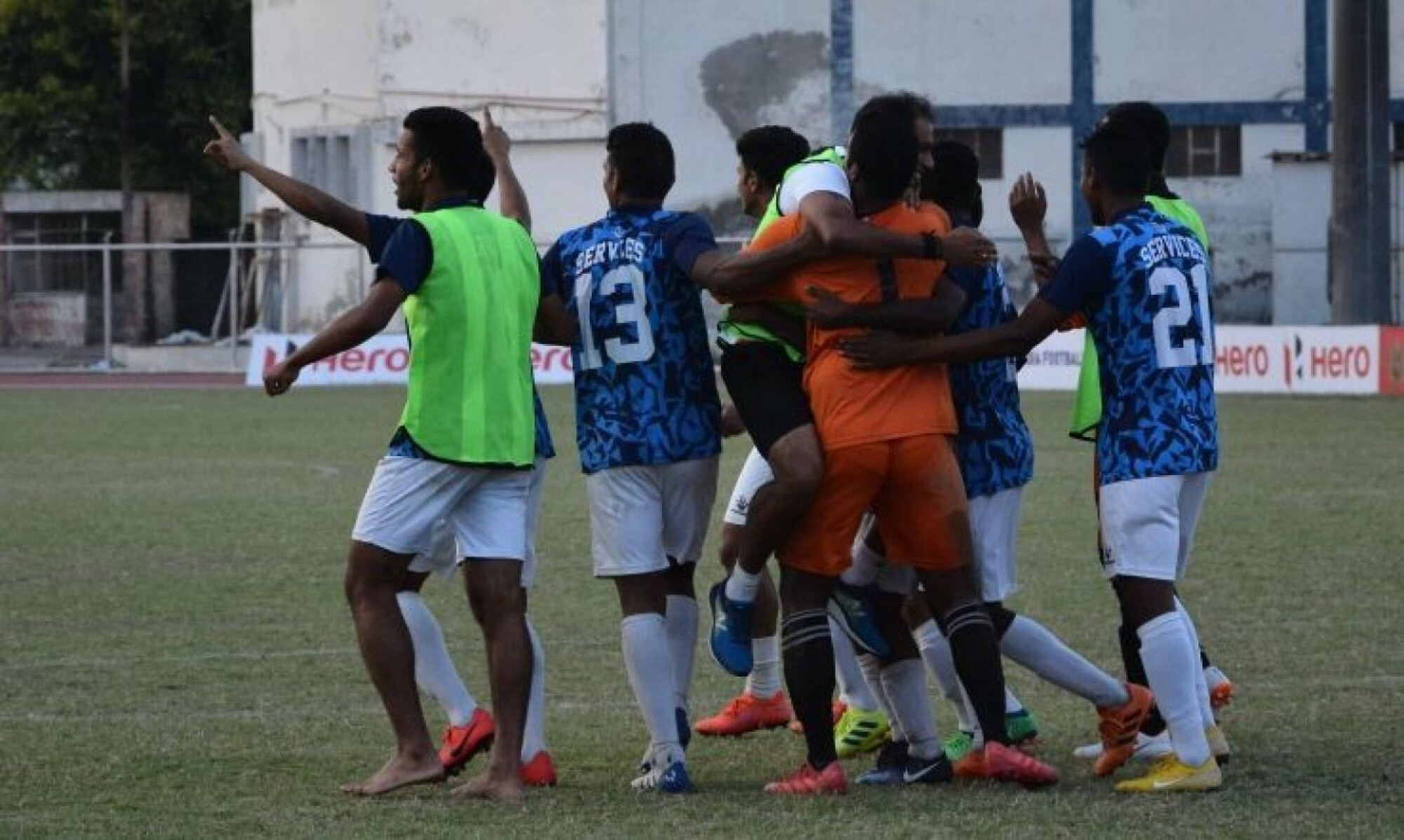 Santosh Trophy final: Services defeat Punjab to lift the trophy.