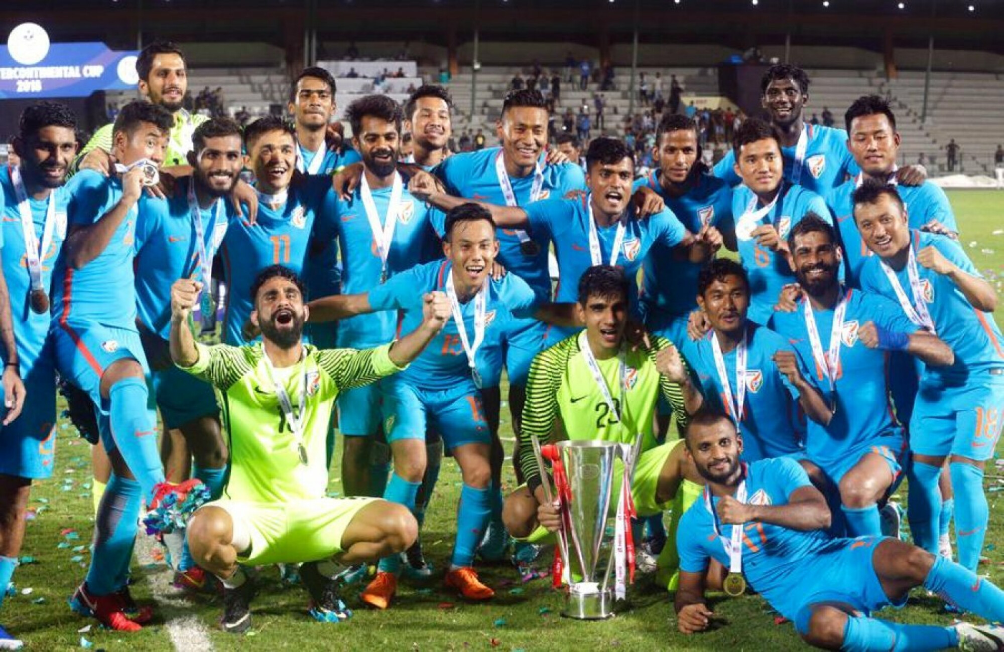 Intercontinental Cup 2019: Fixtures announced, India to face Tajikistan in the opener