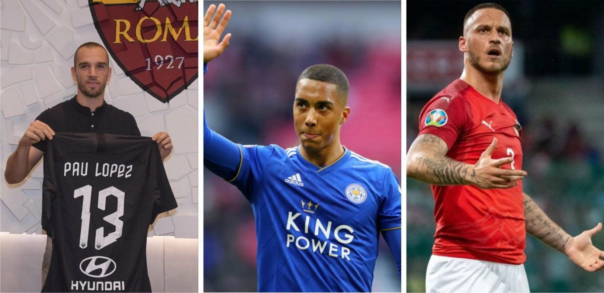 Lopez to Roma, Tielemans to Leicester, Arnautovic to Shanghai: The confirmed transfers this week