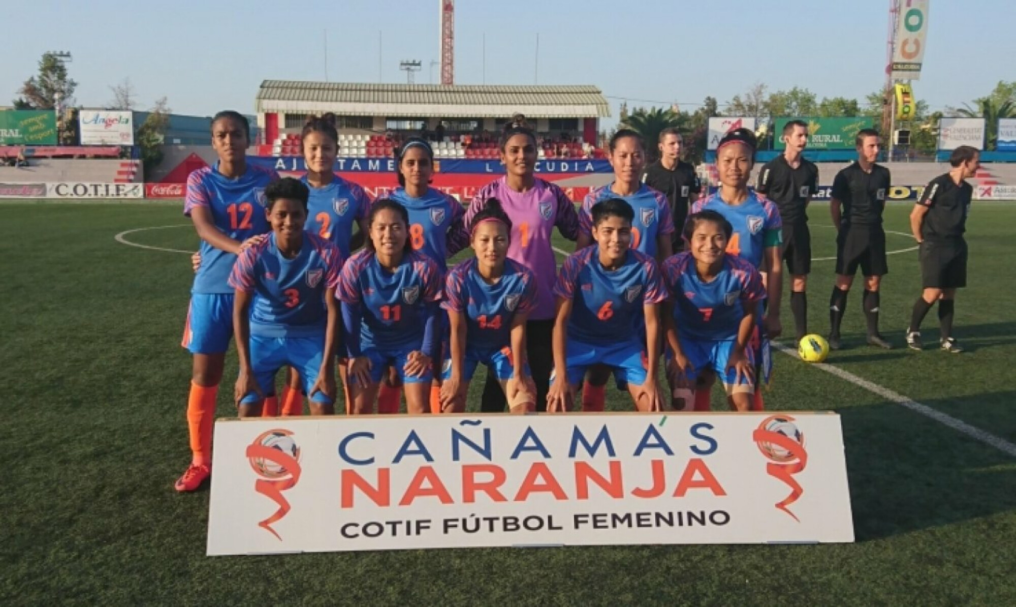 Indian Women's Football Team kicked-off their COTIF Cup 2019 campaign with a loss to Villarreal CF
