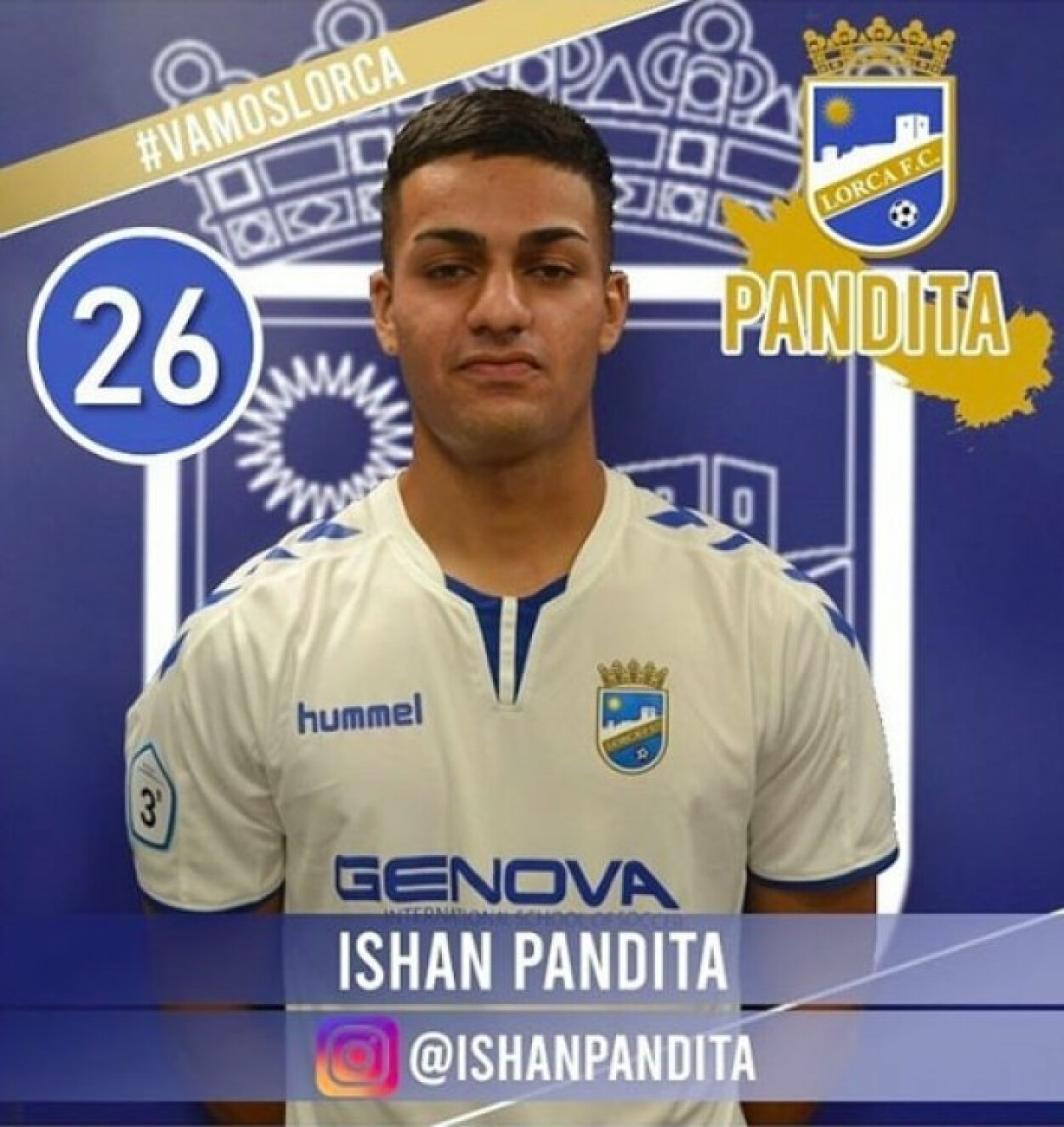 Ishan Pandita signs up for new Spanish club