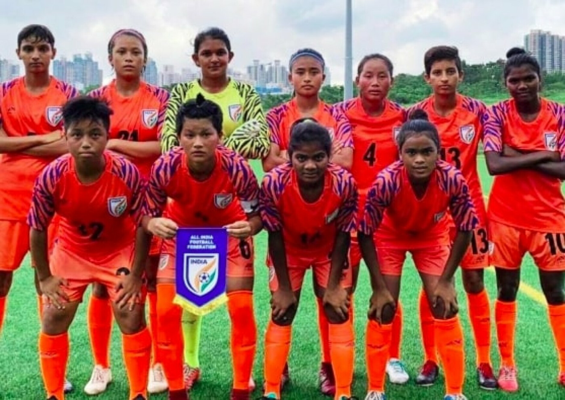 India U-17 women's team thrash U-23 Hong Kong side