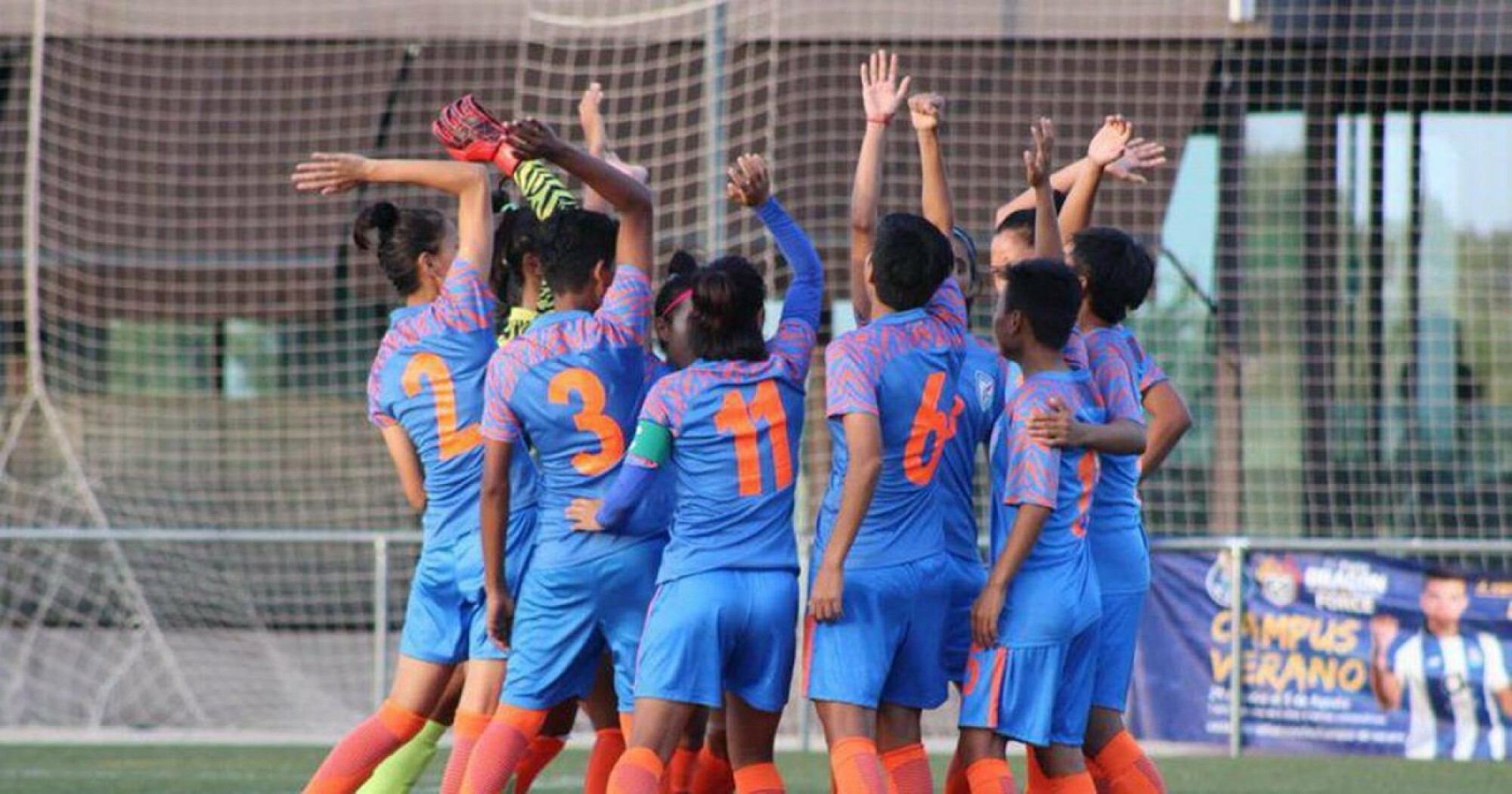 COTIF 2019: Indian women's team receive special trophy