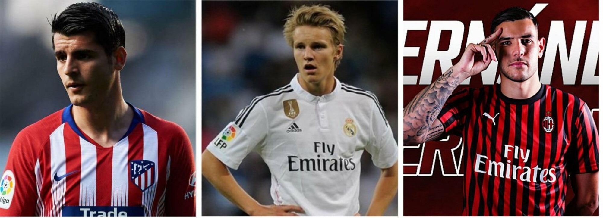 Morata to Atleti, Odegaard to Sociedad, Theo to Milan: The confirmed transfers in the last two days