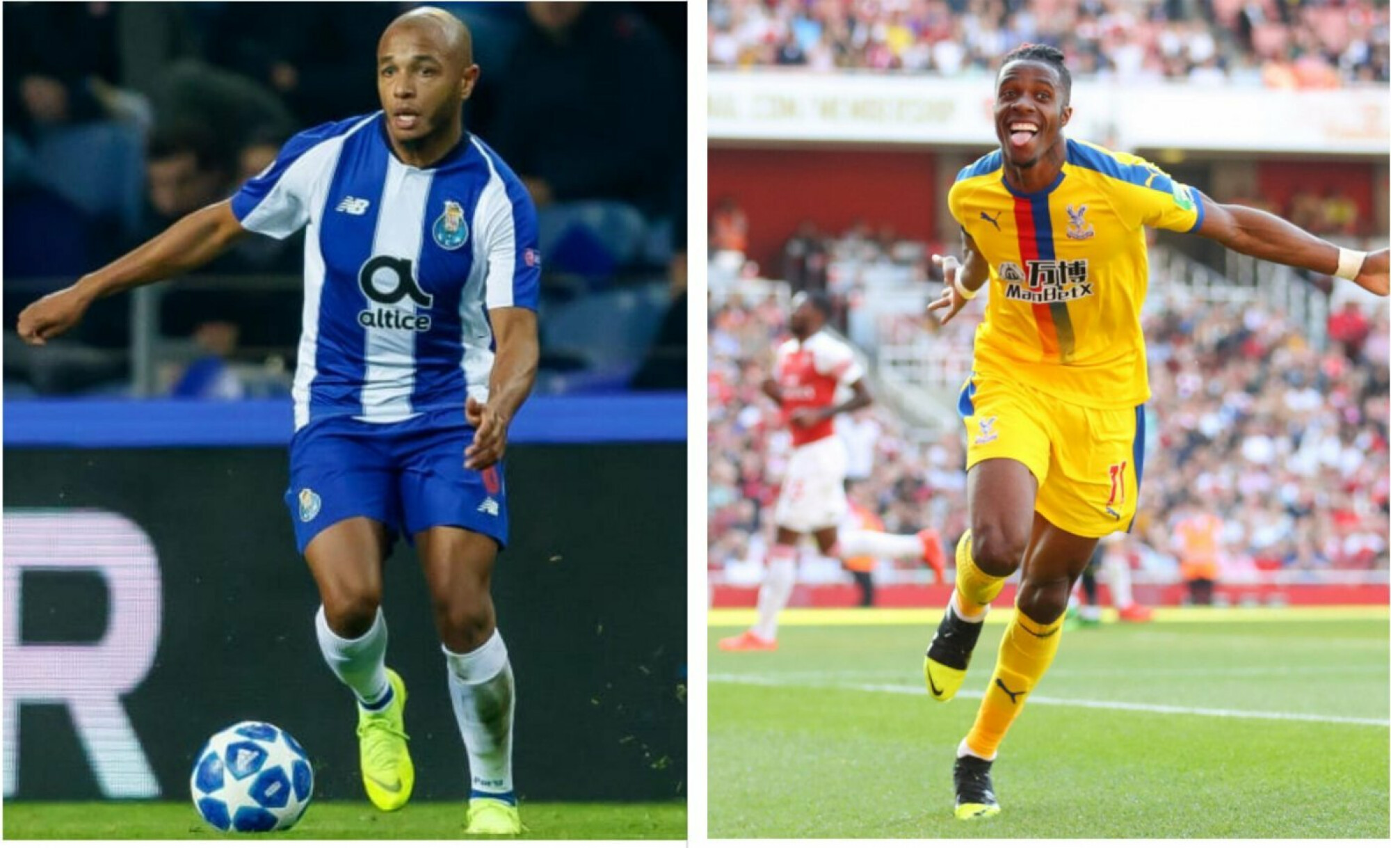 Arsenal turn their attention to Yacine Brahimi and Wilfried Zaha