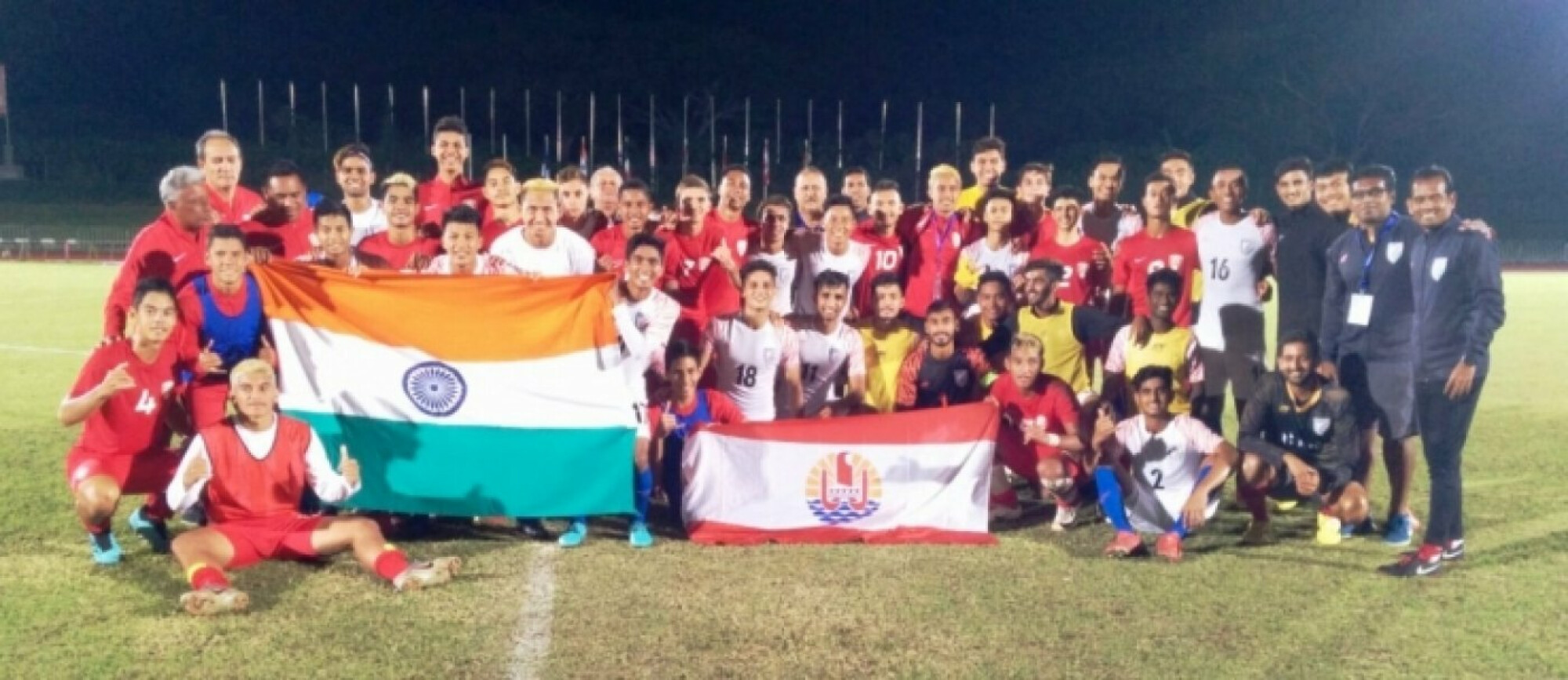OFC Youth Tournament 2019: India beat Tahiti to emerge champions
