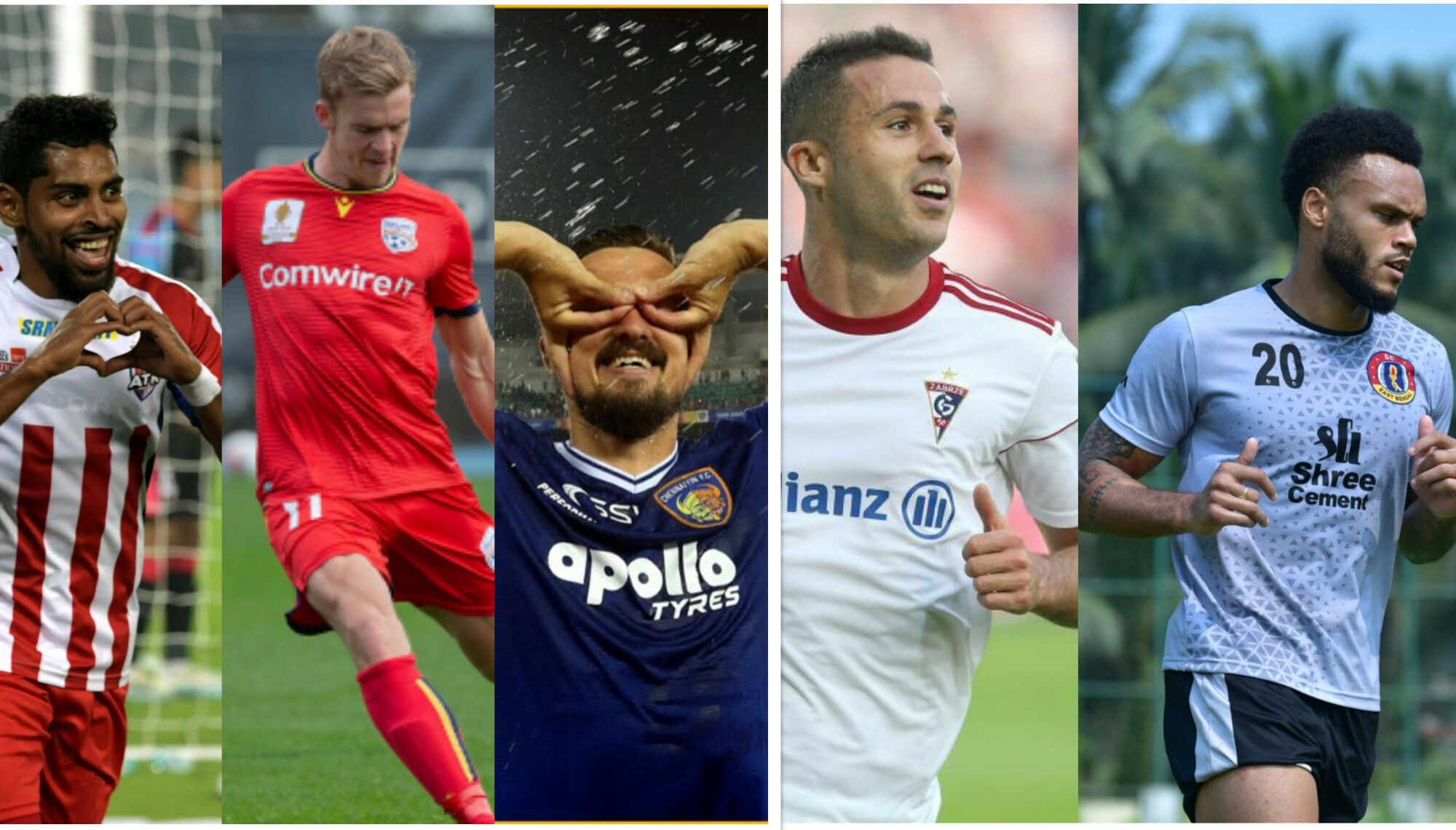 ISL: A look at the foreign strikers of all the team