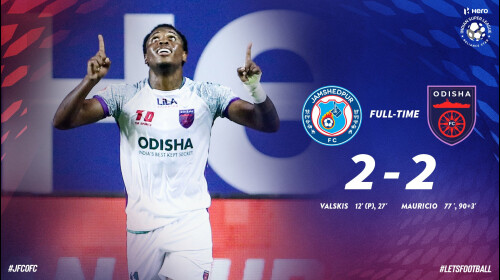ISL 2020-21 Odisha FC vs Jamshedpur FC: Super sub-Mauricio helps Odisha snatch a point