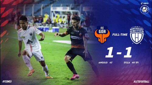ISL 2020-21 NorthEast United FC vs FC Goa: NorthEast United hold Goa for a 1-1 draw
