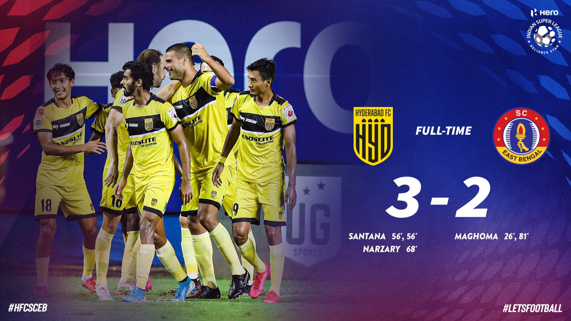 ISL 2020-21 Hyderabad FC vs East Bengal SC: Hyderabad win, East Bengal misery continues
