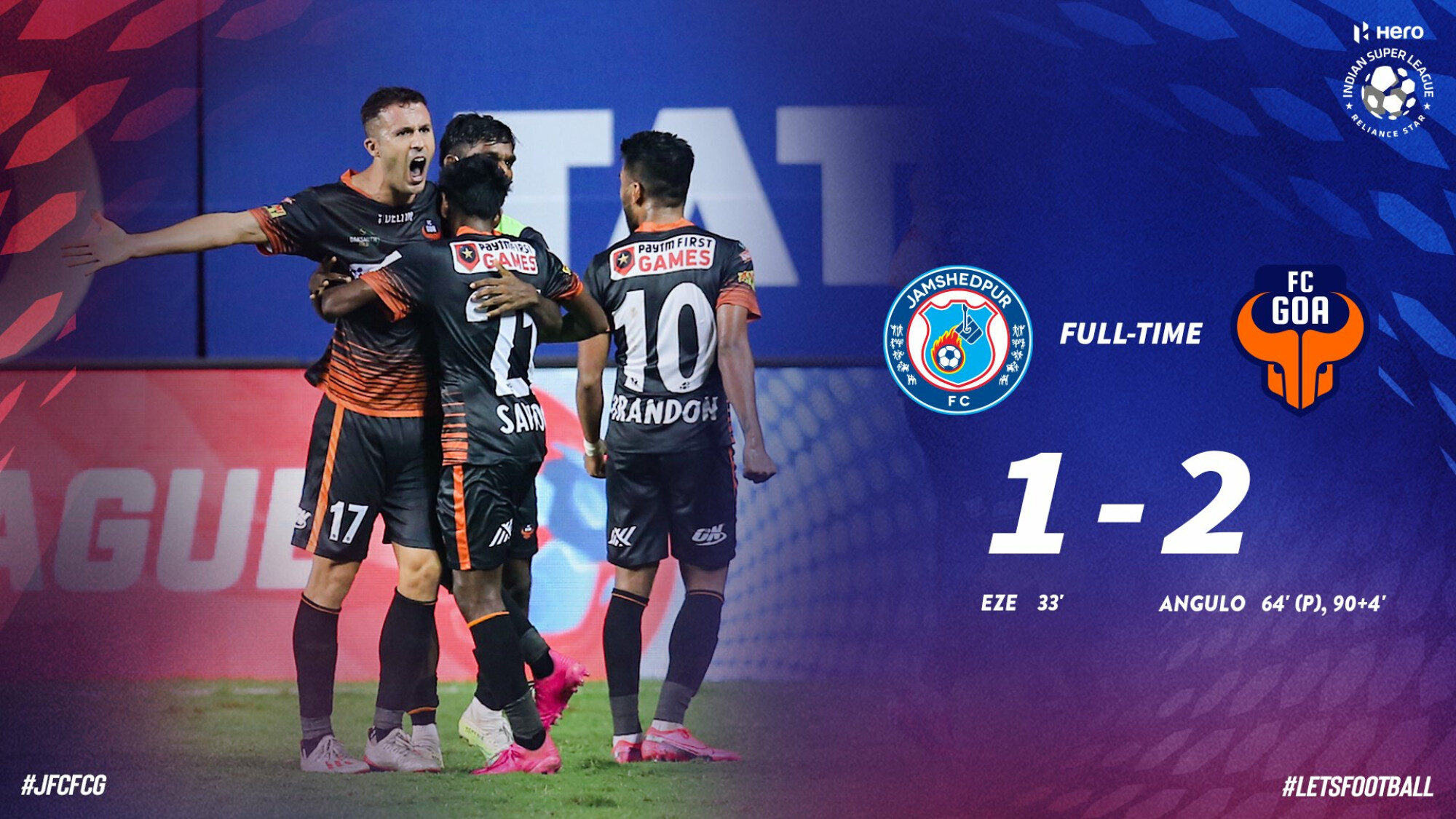 ISL 2020-21 FC Goa vs Jamshedpur FC: FC Goa earn win through late Angulo winner