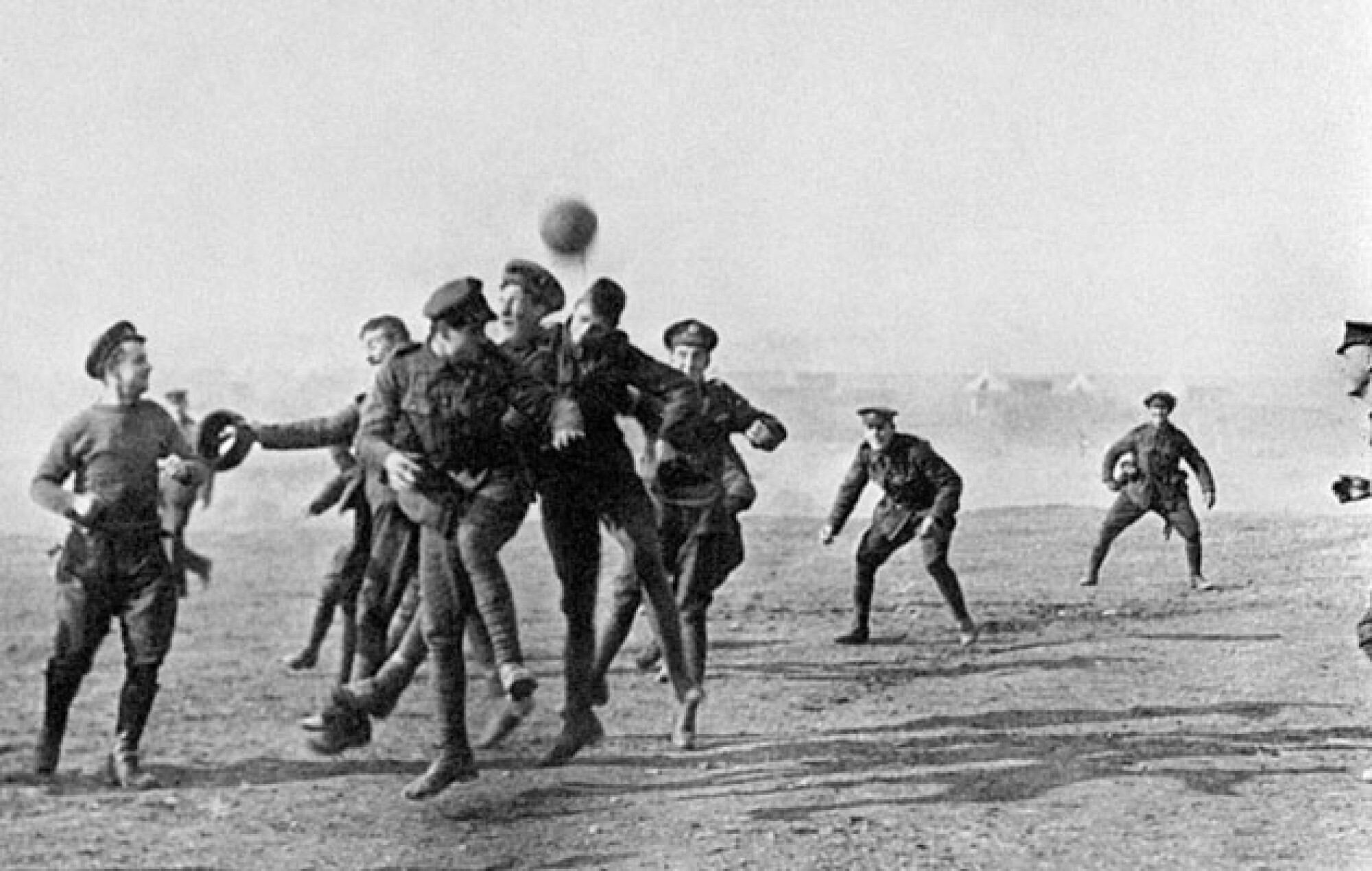 """""""WORLD WAR I AND THE JOY OF FOOTBALL"""": HOW FOOTBALL DURING WW-I GAVE US SOME INCREDIBLE AND MIRACULOUS STORIES"""